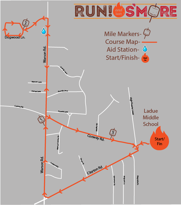 2019 RRS Course Map